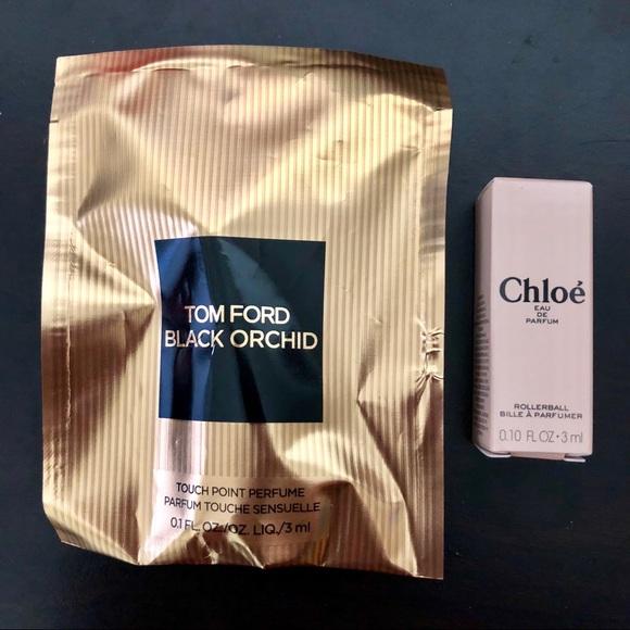 86126757728c Tom Ford and Chloe eau de parfum deluxe samples